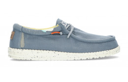 CHAUSSURES DUDE WALLY WASHED 1115 BLUE_STONE