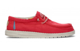 CHAUSSURES DUDE WALLY WASHED 1115 LAVA