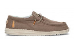 CHAUSSURES DUDE WALLY WASHED 1115 WALNUT