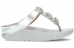 SANDALES FITFLOP GALAXY TOE-THONGS SILVER