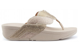 FITFLOP PAISLEY ROPE TOE STRONG Sandales PLATINO