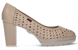 CHAUSSURES CALLAGHAN NATURAL ROSE HEAL BEIGE